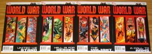 52: World War III #1-4 VF/NM complete series - dc comics set lot 2 3 firestorm