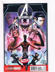 Avengers World # 14 VF 1st Print Marvel NOW Comic Book Iron Man Hulk Thor S63