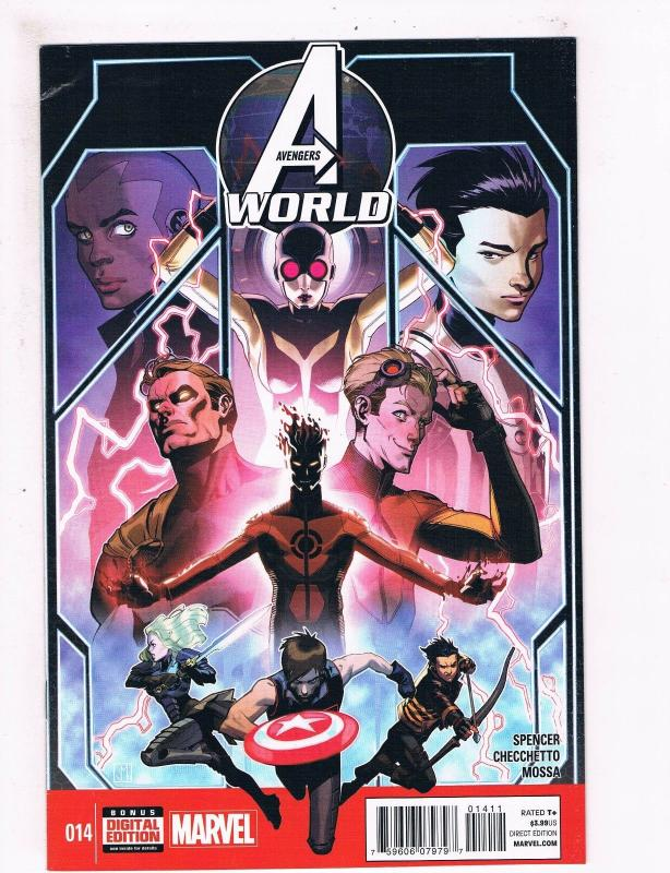 Avengers World # 14 VF 1st Print Marvel NOW Comic Book Iron Man Hulk Thor S63