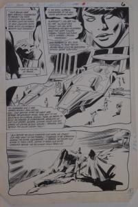 GENE COLAN / KLAUS JANSON original art, JEMM SON of SATURN #5 pg 6, 11x16, 1984