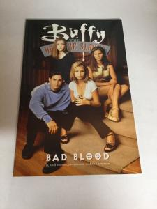 Buffy The Vampire Slayer Bad Blood Tpb Nm Near Mint