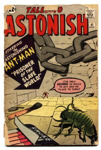 Tales to Astonish #41 comic book-Ant-Man-Kirby-Marvel-1962