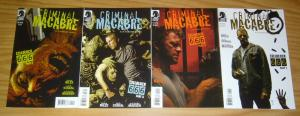 Criminal Macabre: Cellblock 666 #1-4 VF/NM complete series - steve niles set 2 3