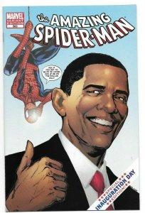 Amazing Spider-Man #583 NM/MT 9.6-9.8 Barack Obama Variant Edition 1st Print