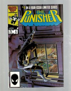 The Punisher # 4 NM 1st Print Mini Series Issue Defenders Jigsaw SB5