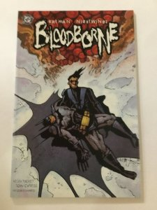 Batman/Nightwing: Bloodborne Near Mint Nm 9.4 Prestige Dc