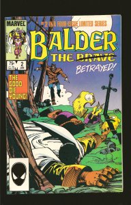 Marvel Comics Balder The Brave Vol 1 No 2 January 1986