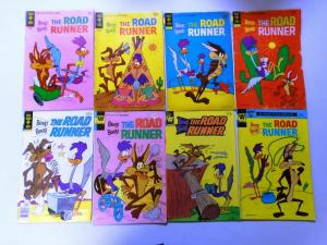 Gold Key Looney Tunes Road Runner + Yosemite Sam Comic Lot, 26 Different, VG