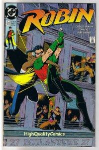 ROBIN #2, NM+, Chuck Dixon, 1991, more DC and Batman in store