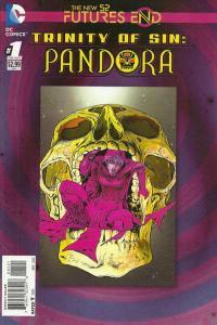 Trinity of Sin: Pandora: Futures End #1, NM + (Stock photo)