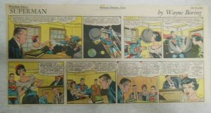 Superman Sunday Page #1342 by Wayne Boring from 7/11/1965 Size: ~7.5 x 15 inches