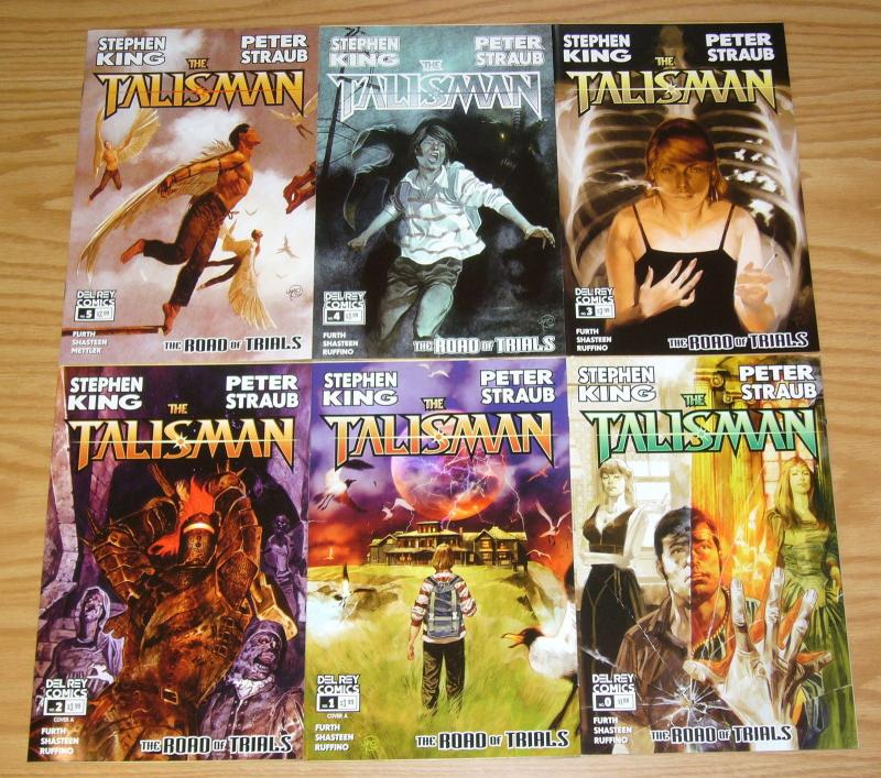 Stephen King's the Talisman #0 & 1-5 VF/NM complete series - del rey comics set