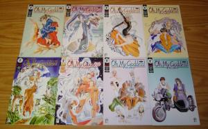 Oh My Goddess part II #1-8 VF/NM complete series - studio proteus manga set lot