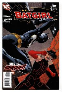 BATGIRL #2 comic book-2008-DC-First appearance of MARQUE