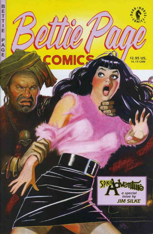 Bettie Page Comics: Spicy Adventure #1 VF/NM Dark Horse - save on shipping - det