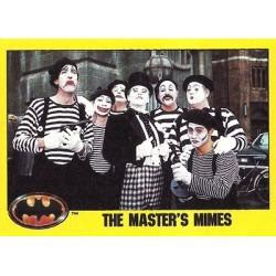 1989 Batman The Movie Series 2 Topps THE MASTER'S MIMES #180