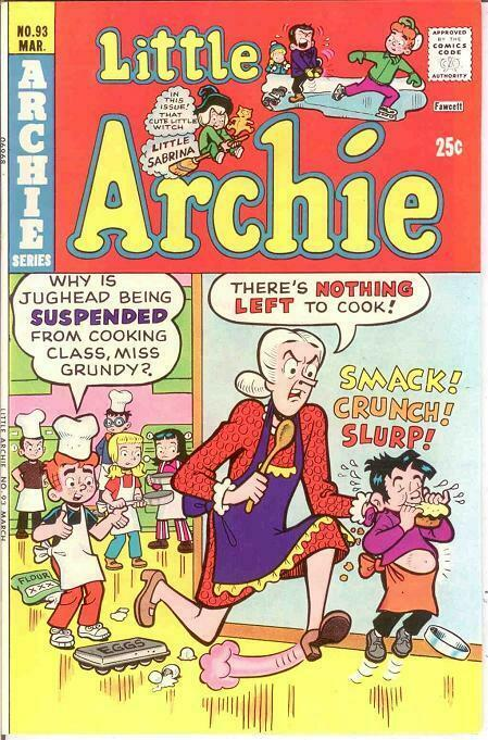 LITTLE ARCHIE (1956-1983)93 VF-NM   March 1975 COMICS BOOK