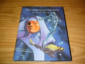 the Sacred & the Profane HC VF/NM w/signed tip-in plate DEAN MOTTER & KEN STEACY