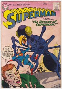 SUPERMAN -#110-1957-DC-ATTACK OF THE GIANT ANTS