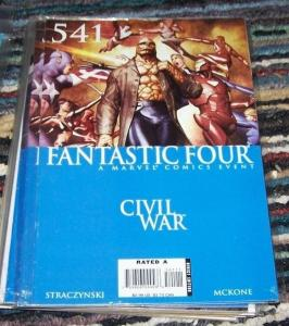 FANTASTIC FOUR #541   2006 MARVEL    civil war captain america   IRONMAN