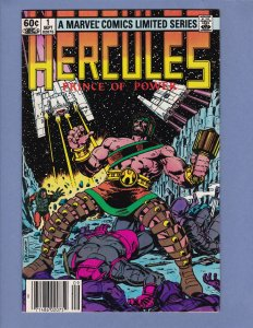Hercules Prince of Power Lot #1 #2 #3 #4 Complete Series 1982