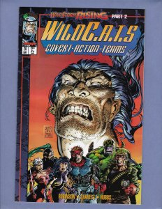 Wildcats #20 NM- Trading Cards Front/Back Cover Scans Image 1995