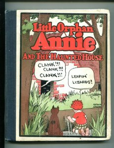 LITTLE ORPHAN ANNIE #3-1929-HAROLD GRAY-THE HAUNTED HOUSE-vg