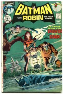 BATMAN #235-1971-comic book TALIA AL GHUL CVR-BRONZE AGE! vg/f
