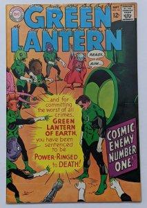 Green Lantern #55 (Sept 1967, DC) F/VF 7.0 1st app Charley Bicker Gil Kane cover