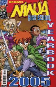 Ninja High School Yearbook #17 VF/NM; Malibu | save on shipping - details inside