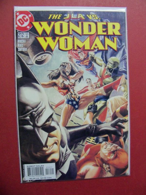 WONDER WOMAN #212 HIGH GRADE BOOK (9.0 to 9.4) OR BETTER