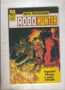 Robo Hunter numero 6: Bax The Burner (numerado 1 en trasera)