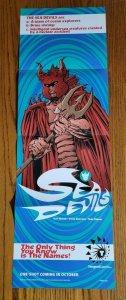 11 x 34 Tangent Sea Devils Promo Poster NO PIN HOLES NEW