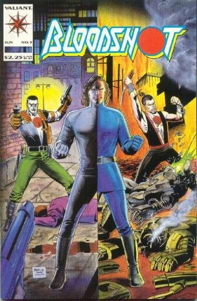 Bloodshot (1993 series) #5, NM- (Stock photo)