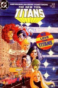 New Teen Titans (1984 series) #6, NM (Stock photo)