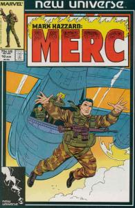 Mark Hazzard: Merc #10 FN; Marvel | save on shipping - details inside