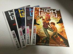 High Level 2 3 4 5 Nm Near Mint DC Vertigo Comics