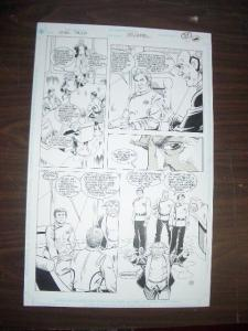 GORDON PURCELL-STAR TREK #30 PG 23 ORIGINAL COMIC ART  FN