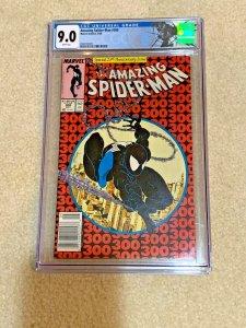 Estate sale lot venom comic SpiderMan 300 CGC Newstand Edition, ASM 252 #8 +more