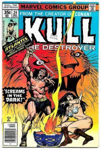 Kull The Destroyer #24 (Marvel, 1977) FN-