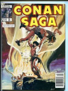 CONAN SAGA BARGAIN LOT OF 4 1988-MARVEL-STAN LEE-ISSUES #10-#11-#12-#13