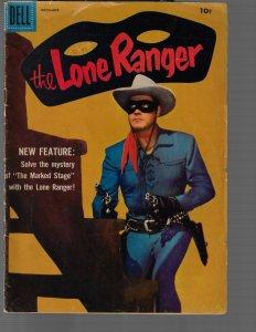 Lone Ranger #114 (Dell, 1957) GD/VG