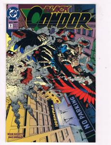 Black Condor #9 VF DC Comics Comic Book Augustyn Feb 1993 DE40 AD14
