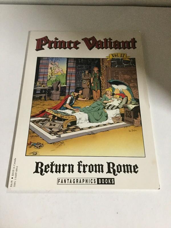 Prince Valiant Volume 17 Return From Rome Oversized SC Fantagraphic B15
