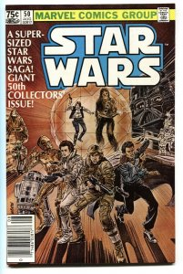 STAR WARS #50-1st appearance of IG-88-comic book NEWSSTAND