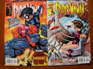 4 Near-Mint Marvel Comic SPIDER-WOMAN #2 #3 #4 #9 (1999) Byrne Sears Spider-man