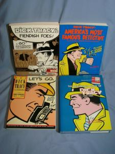 DICK TRACY Comic Lot TPB Collected Issues Retro WORLD'S MOST FAMOUS DETECTIVE!!!