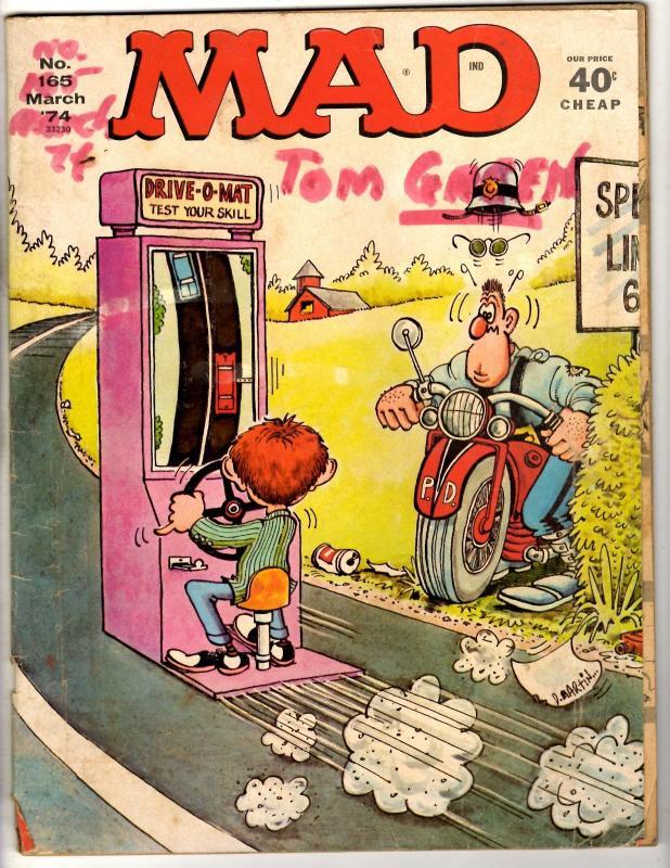 Lot Of 3 Mad Magazines # 250 165 220 Parody Humor Comedy Star Wars Indiana JG11
