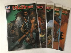 Slaine The Hardened God 1 2 3 5 6 Lot Set Run Nm Near Mint Fleetway