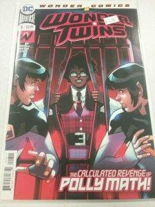 WONDER TWINS #8 BYRNE DC COMICS 08/24/2020 NW77